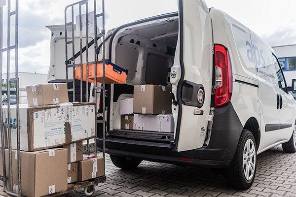 Schnelle Lieferung von Ersatzteilen in Mönchengladbach, Düsseldorf, Weeze und ganz NRW